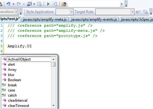 javascript-intellisence-broken