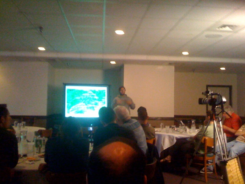 Marcel Molina talking at ShRUG